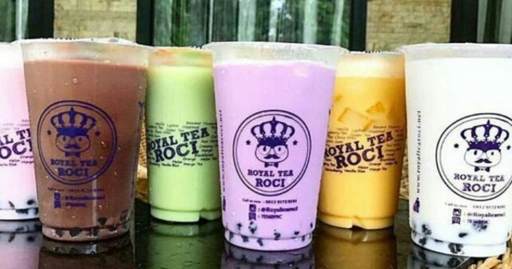 Bisnis Franchise Minuman - Royal Tea Roci