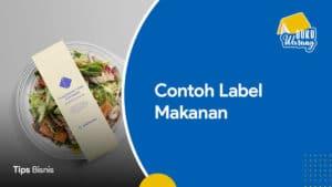 Contoh Label Makanan