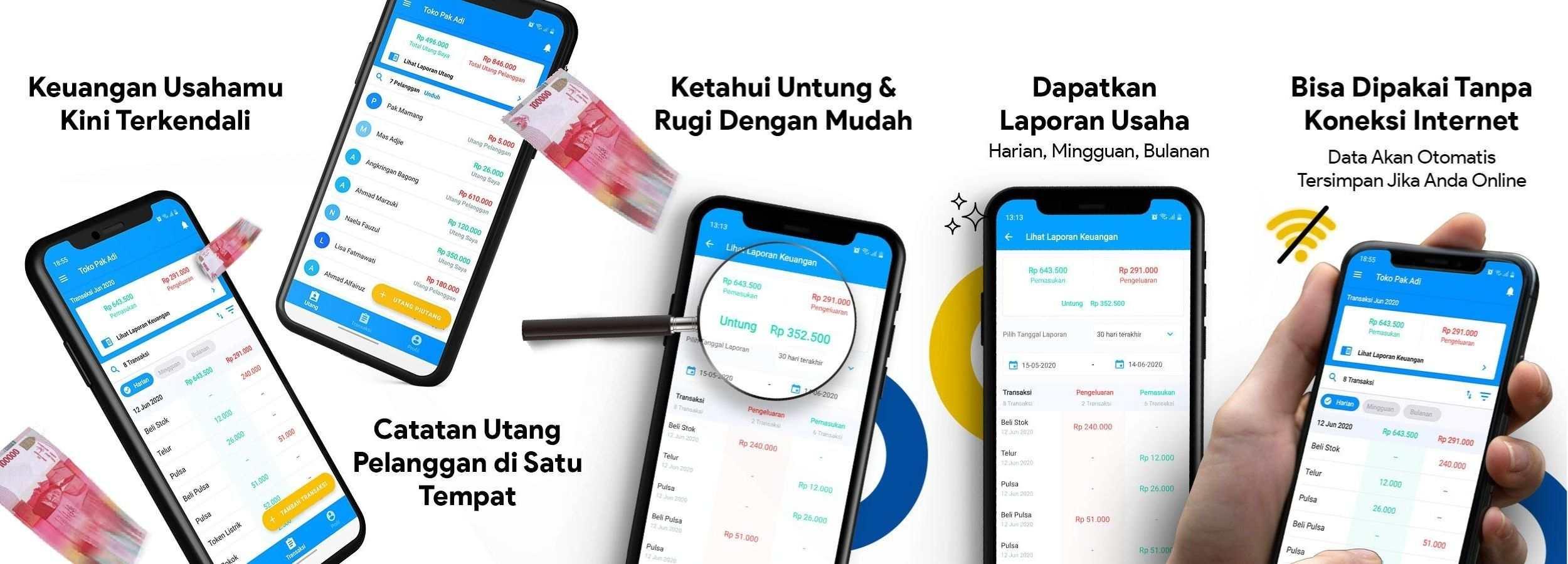 Aplikasi Pengatur Keuangan bukuwarung