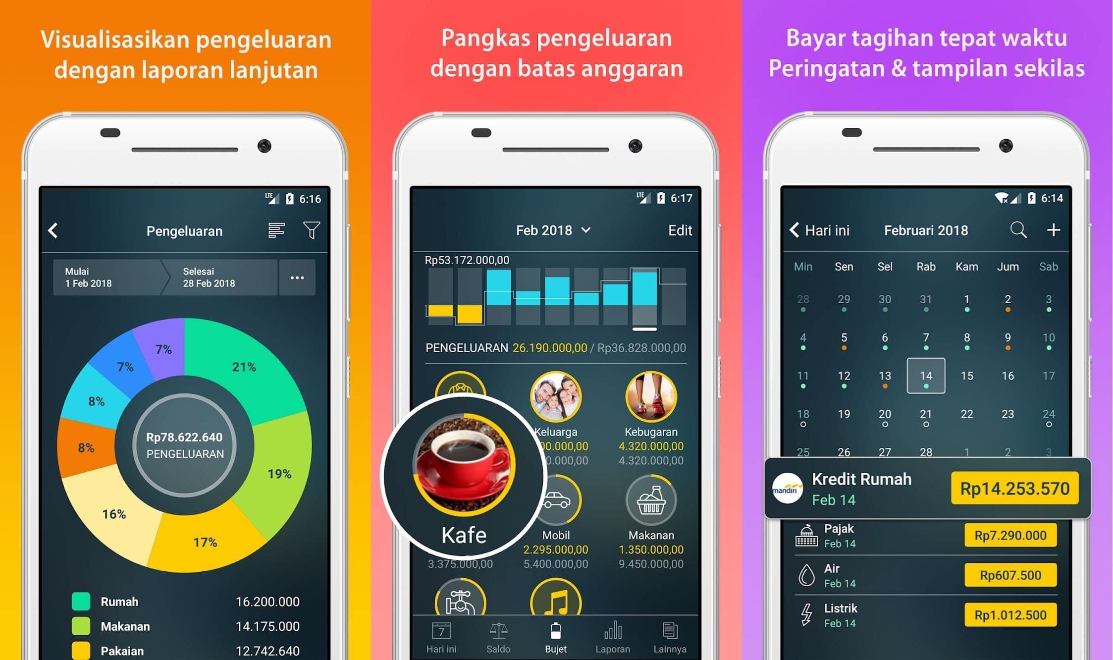 aplikasi pengatur keuangan money pro