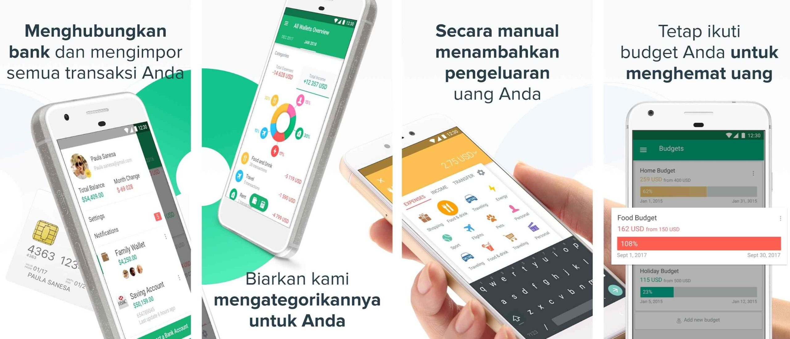 aplikasi pengatur keuangan spendee
